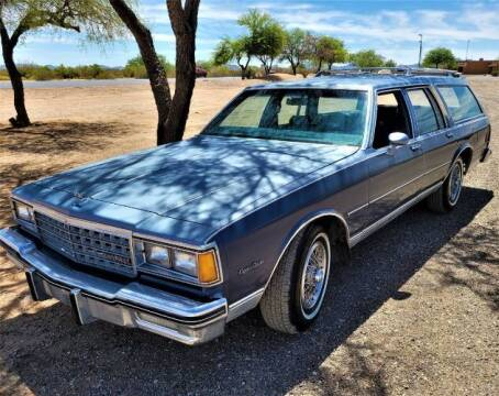 1984 Chevrolet Caprice for sale at Classic Car Deals in Cadillac MI