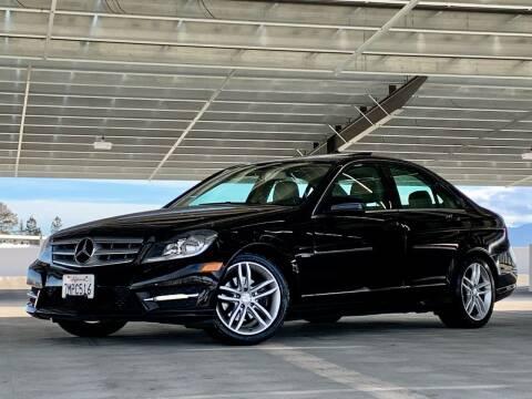 2012 Mercedes-Benz C-Class for sale at Car Hero LLC in Santa Clara CA
