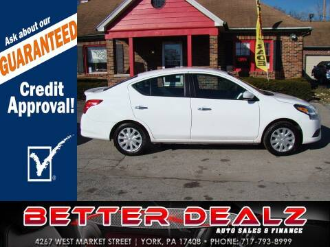 2019 Nissan Versa for sale at Better Dealz Auto Sales & Finance in York PA