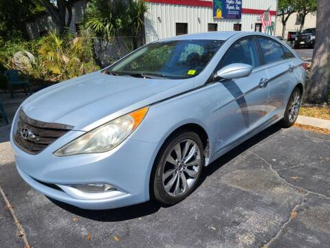 2011 Hyundai Sonata for sale at CAR-RIGHT AUTO SALES INC in Naples FL