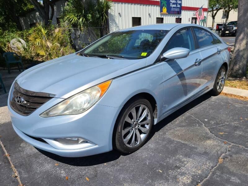 2011 Hyundai Sonata for sale at CAR-RIGHT AUTO SALES INC in Naples FL