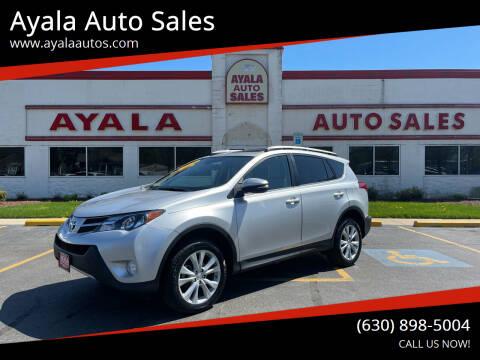 2015 Toyota RAV4 for sale at Ayala Auto Sales in Aurora IL