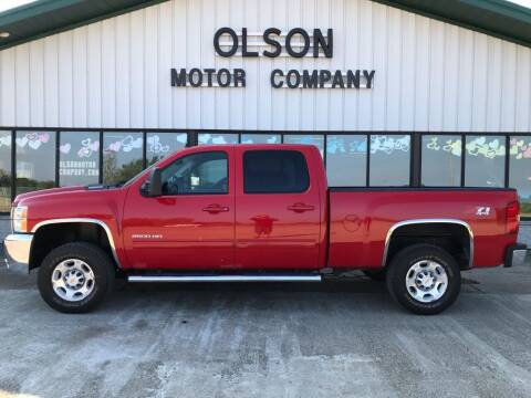 2010 Chevrolet Silverado 2500HD for sale at Olson Motor Company in Morris MN