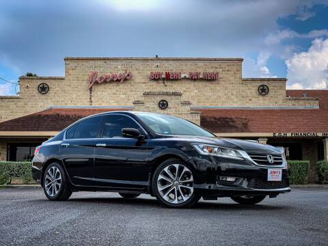 2015 Honda Accord for sale at Jerrys Auto Sales in San Benito TX
