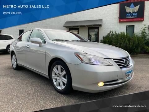 2008 Lexus ES 350 for sale at METRO AUTO SALES LLC in Blaine MN