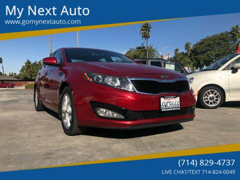 2012 Kia Optima for sale at My Next Auto in Anaheim CA