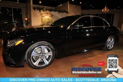 2020 Mercedes-Benz E-Class for sale at Discover Pre-Owned Auto Sales in Scottsdale AZ