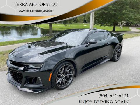 2017 Chevrolet Camaro for sale at Terra Motors LLC in Jacksonville FL
