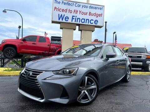 2018 Lexus IS 300 for sale at American Financial Cars in Orlando FL