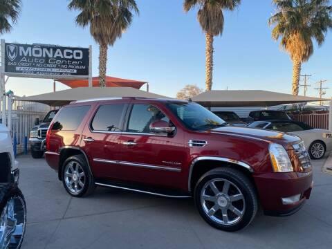 2010 Cadillac Escalade ESV for sale at Monaco Auto Center LLC in El Paso TX