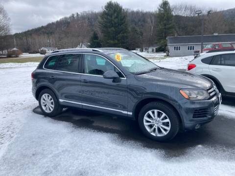 2013 Volkswagen Touareg for sale at JERRY SIMON AUTO SALES in Cambridge NY
