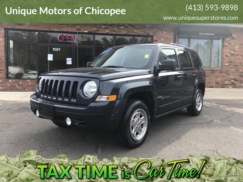 2015 Jeep Patriot for sale at Unique Motors of Chicopee in Chicopee MA