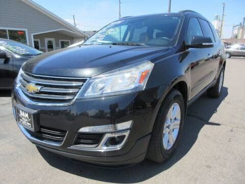 2014 Chevrolet Traverse for sale at Dam Auto Sales in Sioux City IA