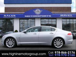 2013 Jaguar XF for sale at Highline Group Motorsports in Lowell MA