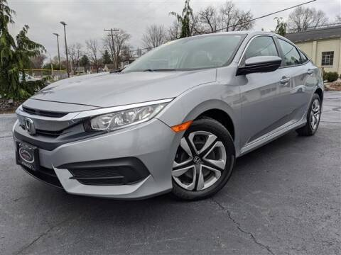 2017 Honda Civic for sale at GAHANNA AUTO SALES in Gahanna OH