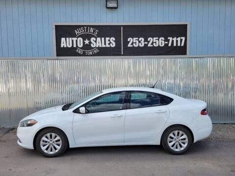 2014 Dodge Dart for sale at Austin's Auto Sales in Edgewood WA