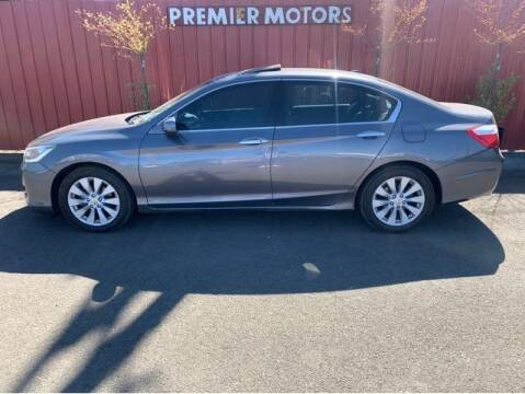 2013 Honda Accord for sale at PREMIERMOTORS  INC. in Milton Freewater OR