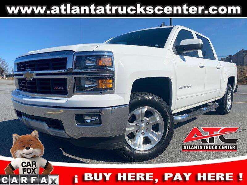 2015 Chevrolet Silverado 1500 for sale at ATLANTA TRUCK CENTER LLC in Brookhaven GA