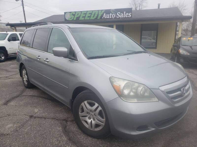 2007 Honda Odyssey for sale at speedy auto sales in Indianapolis IN