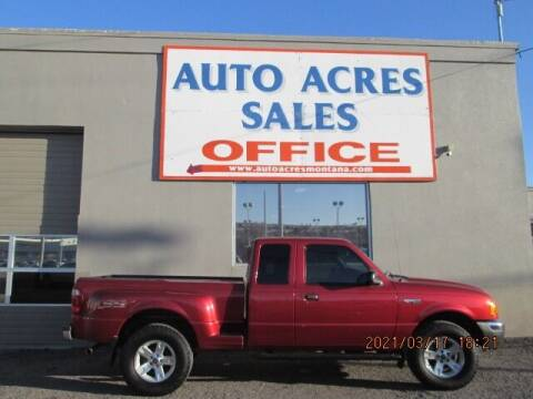 2002 Ford Ranger for sale at Auto Acres in Billings MT