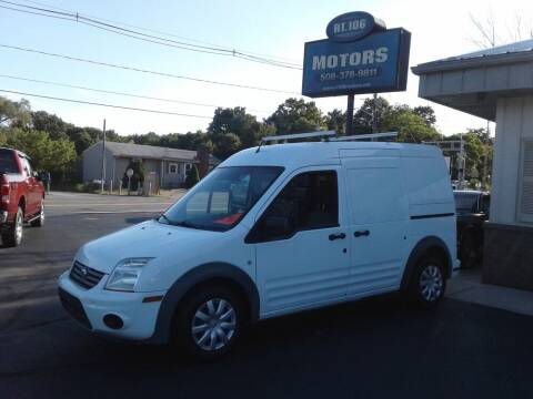 2012 Ford Transit Connect for sale at Route 106 Motors in East Bridgewater MA