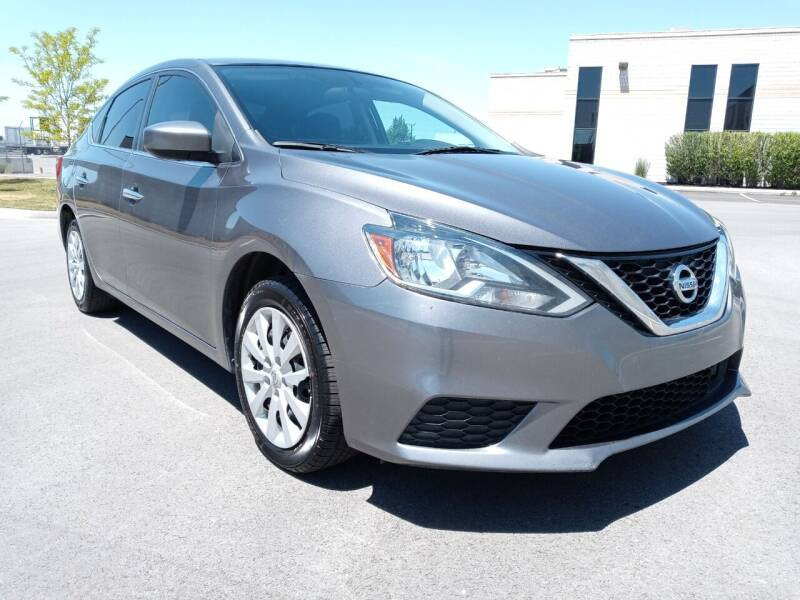 2018 Nissan Sentra for sale at AUTOMOTIVE SOLUTIONS in Salt Lake City UT