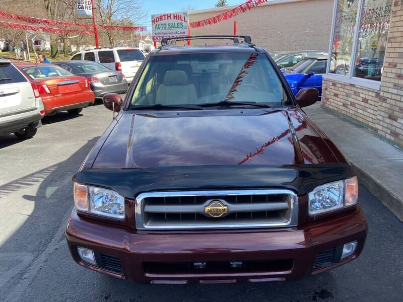 2000 Nissan Pathfinder for sale at North Hill Auto Sales in Akron OH