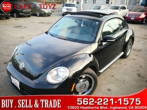 2012 Volkswagen Beetle for sale at Carz 4 Toyz in Inglewood CA
