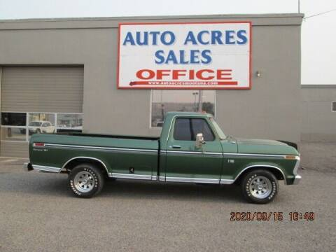 1974 Ford F-100 for sale at Auto Acres in Billings MT