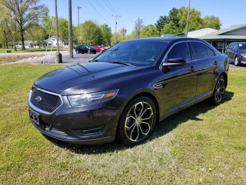 2013 Ford Taurus for sale at Ridgeway's Auto Sales in West Frankfort IL