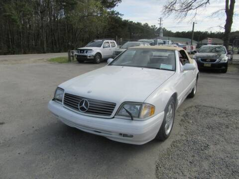 2000 Mercedes-Benz SL-Class for sale at Bullet Motors Charleston Area in Summerville SC