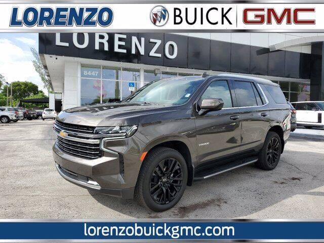2021 Chevrolet Tahoe for sale at Lorenzo Buick GMC in Miami FL