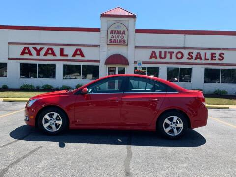 2012 Chevrolet Cruze for sale at Ayala Auto Sales in Aurora IL