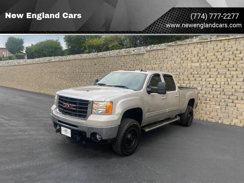 2008 GMC Sierra 2500HD for sale at New England Cars in Attleboro MA