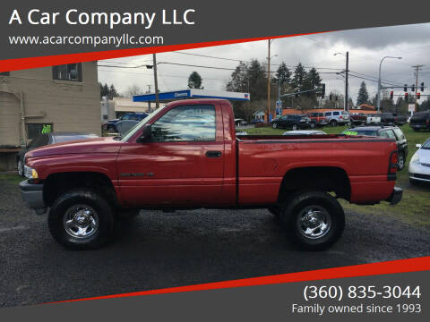 2000 Dodge Ram Pickup 1500 for sale at A Car Company LLC in Washougal WA