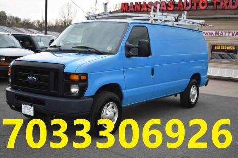 2012 Ford E-Series Cargo for sale at MANASSAS AUTO TRUCK in Manassas VA