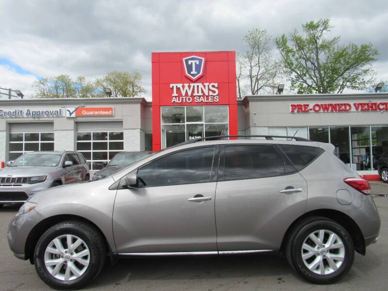2011 Nissan Murano for sale at Twins Auto Sales Inc in Detroit MI