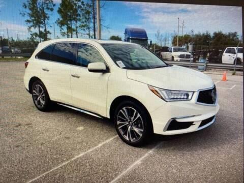 2019 Acura MDX for sale at JOE BULLARD USED CARS in Mobile AL