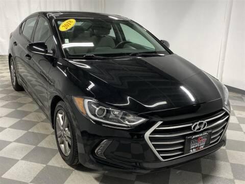 2018 Hyundai Elantra for sale at Mr. Car LLC in Brentwood MD