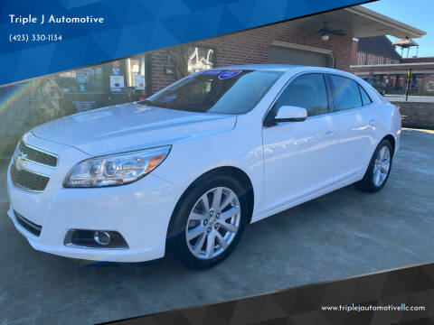 2013 Chevrolet Malibu for sale at Triple J Automotive in Erwin TN