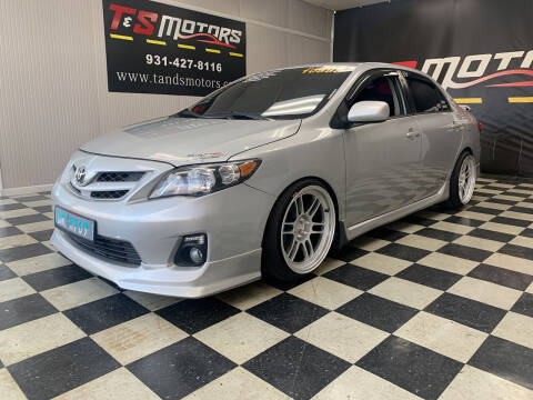 2012 Toyota Corolla for sale at T & S Motors in Ardmore TN