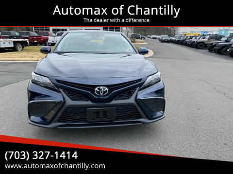 2021 Toyota Camry for sale at Automax of Chantilly in Chantilly VA