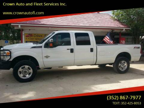 2012 Ford F-250 Super Duty for sale at Crown Auto and Fleet Services Inc. in Ocala FL