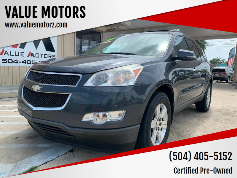 2009 Chevrolet Traverse for sale at VALUE MOTORS in Kenner LA