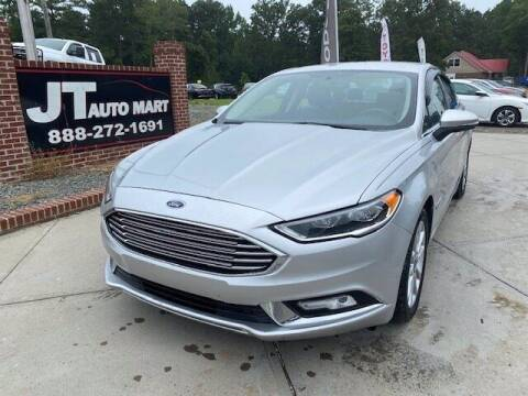2017 Ford Fusion Energi for sale at J T Auto Group in Sanford NC