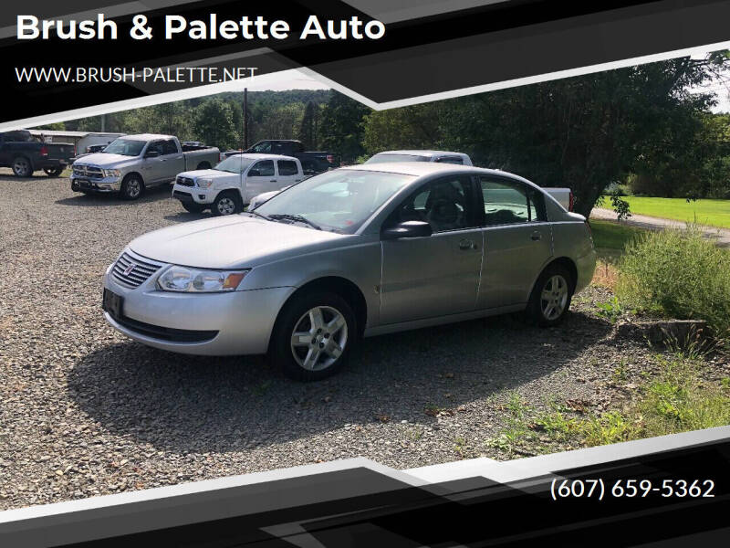 2007 Saturn Ion for sale at Brush & Palette Auto in Candor NY