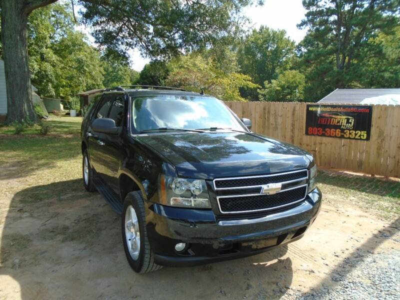 2009 Chevrolet Tahoe for sale at Hot Deals Auto LLC in Rock Hill SC