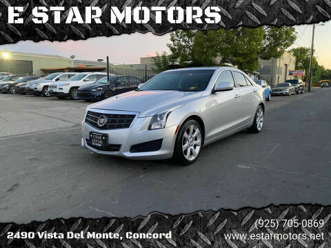 2014 Cadillac ATS for sale at E STAR MOTORS in Concord CA