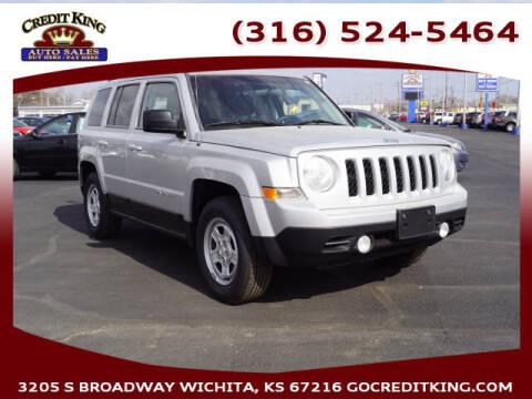 2014 Jeep Patriot for sale at Credit King Auto Sales in Wichita KS