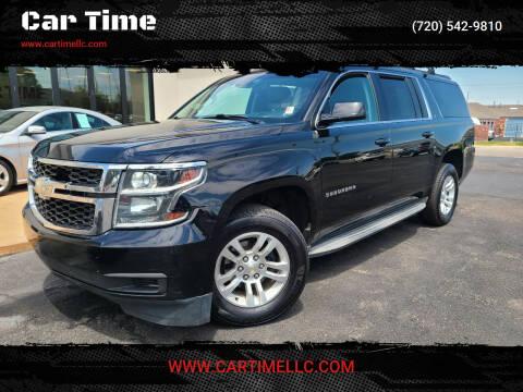 2015 Chevrolet Suburban for sale at Car Time in Denver CO